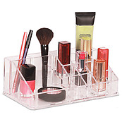 Clearly Chic 16-Compartment Cosmetic organizer