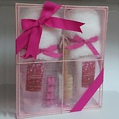 Simple Pleasures Raspberry Pomegranate Foot Care Gift Set