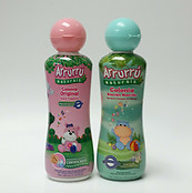 Lot of 2 Arrurru Cologne Girl Pink & Newborn 7.4 oz Colonia Nino y Recien Nacido