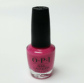 OPI Nail Lacquer Polish Kiss Me On My Tulips NL H59 100% Authentic Hot Pink