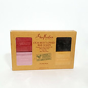 Shea Moisture Our Best Loved Bar Soaps 4-Pc Set Manuka African Black Rose Butter
