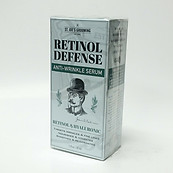St. Joe's Grooming Retinol Defense Anti Wrinkle Serum Hyaluronic for Men 1 oz