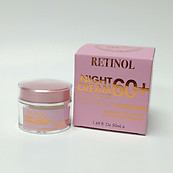 Spa Cosmetics Retinol Night Cream Power Moisturizer 1.69 oz Ages 60+