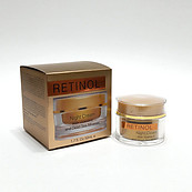 Spa Cosmetics Retinol Night Cream Vitamin E and Dead Sea Minerals 1.69oz Smooths