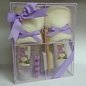 Simple Pleasures French Lilac Foot Care Gift Set