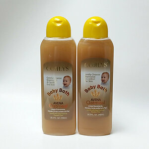 Lot of 2 Corlys Body Wash Oatmeal Avena 25.3 oz 750 mL Baby Children Kids