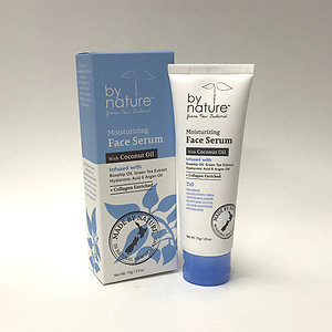 By nature Moisturizing Face Serum with Coconut Oil + Collagen Enriched - 2.5oz