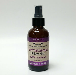Nature Love Pillow Mist Spray Sweet Dreams Lavender Vanilla 4 oz Aromatherapy