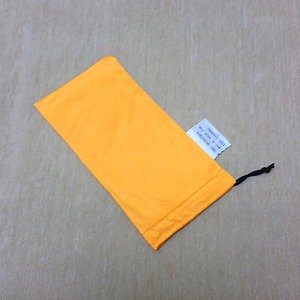 Microfiber Pouch Soft Cleaning Case Sunglasses Eyeglasses Orange