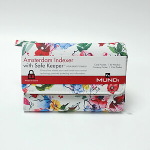 Mundi Amsterdam Indexer Safe Keeper Floral Wallet ID Window Coin & Card Pockets